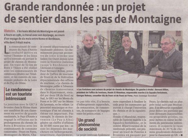 LE PROGRES LUNDI 05.01.2015 PAGE.1 RECADRE