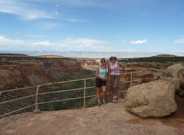 Jour 3 Colorado National Monument canyon filles