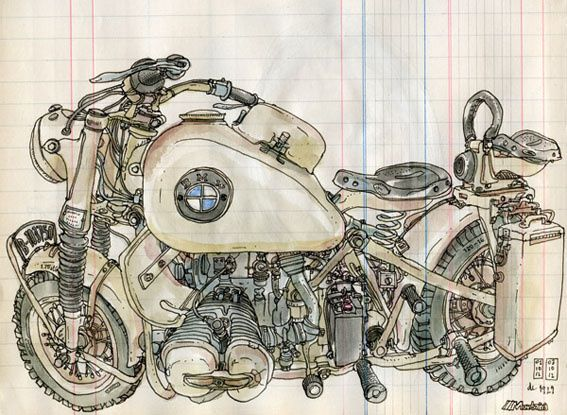 Lapin BMW R75 copie