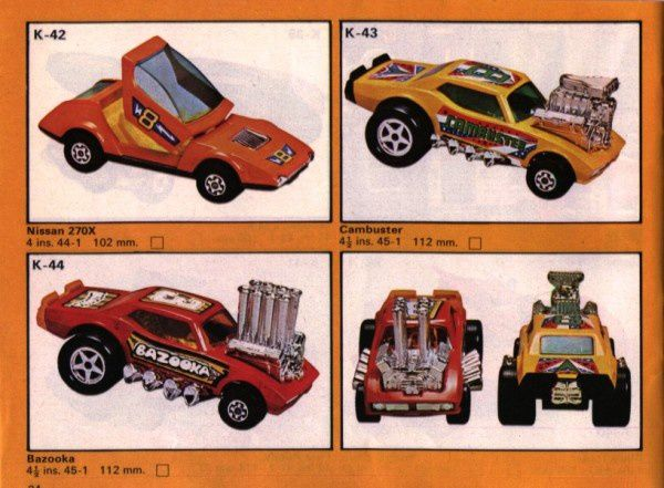 catalogue matchbox 1975 P34