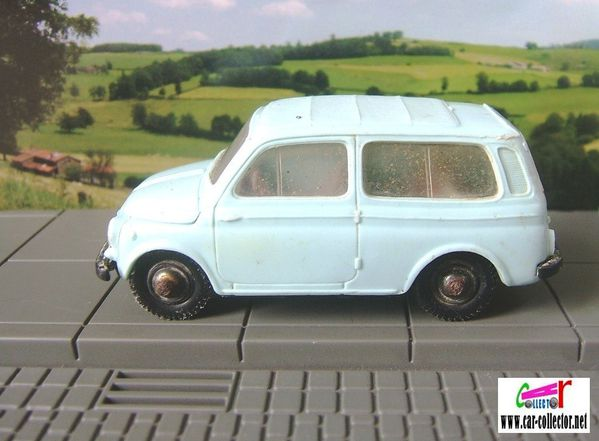 fiat 500 break appelee jardiniere les miniatures de norev 1 43 car. Black Bedroom Furniture Sets. Home Design Ideas