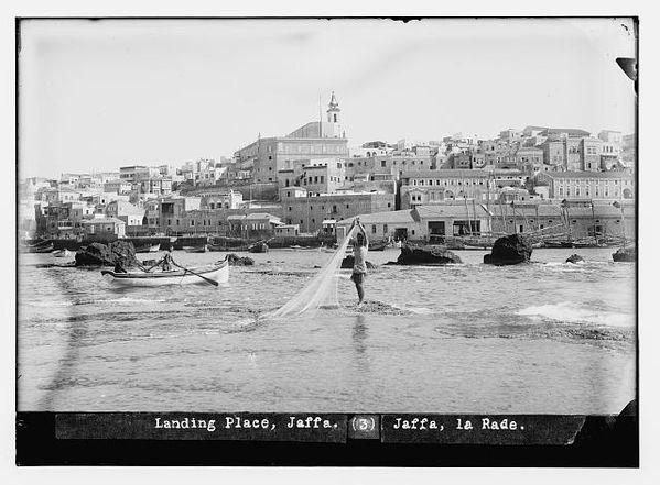Landing place, Jaffa 1898-1914