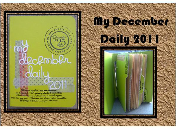 my december daily