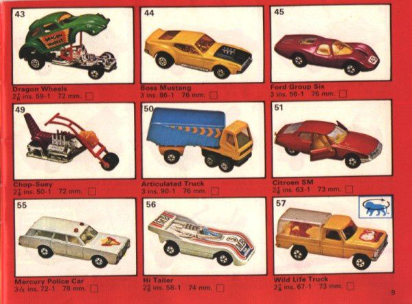 catalogue matchbox 1975 p09