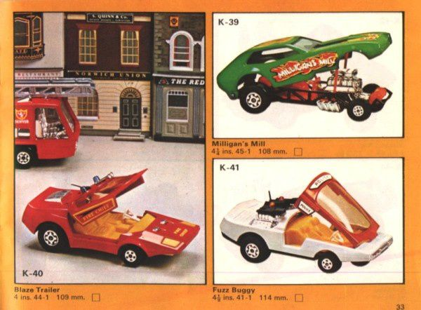 catalogue matchbox 1975 p33 fuzz buggy