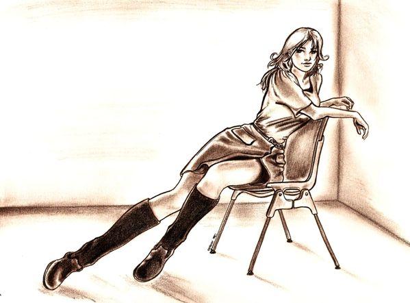 Sitting Belle