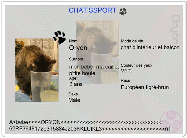 chatsport Oryon