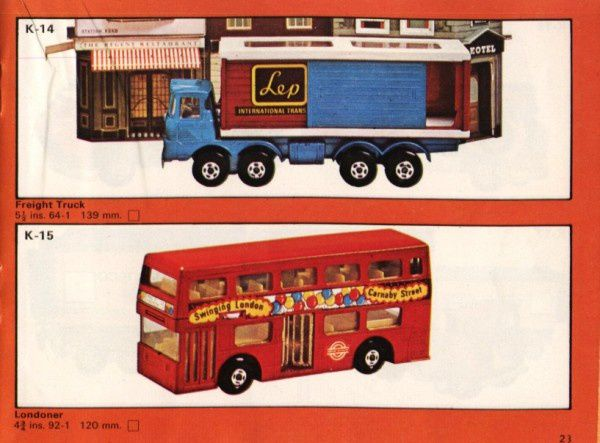catalogue matchbox 1975 p23