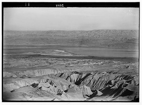 Around the Dead Sea. The Dead Sea, approximately 1920 to 1933