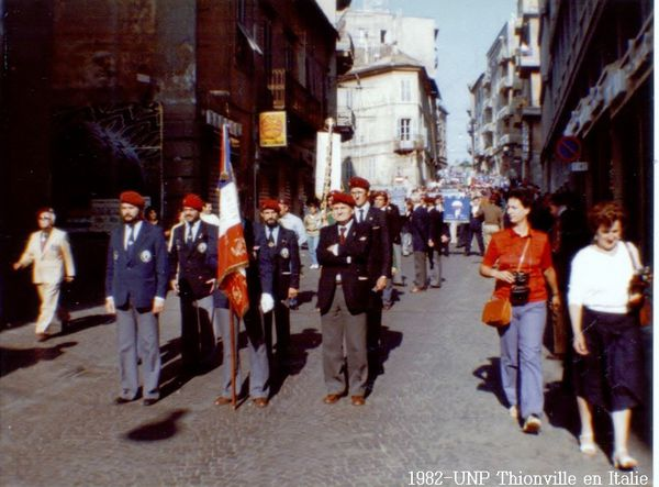 1982-UNP Thionville en Italie (8)