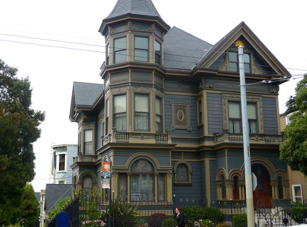 San Francisco Haight Ashbury Maisons 4