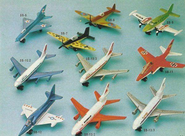 p33 katalog matchbox 1979.80 avions matchbox