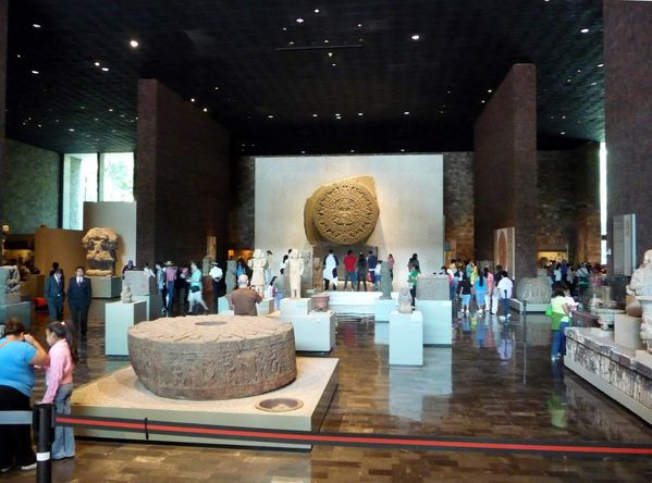 Mexico Musée salle Mexica