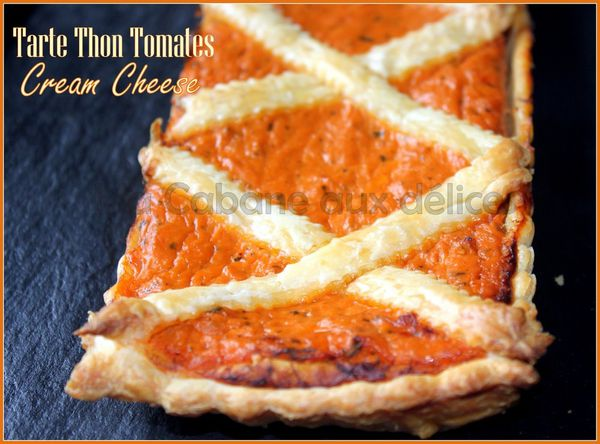 Tarte thon tomate cream cheese photo 1