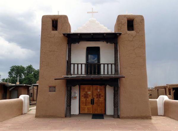 Taos Pueblo église 5