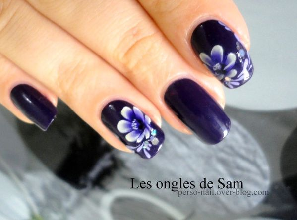 One-stroke-purple-flower-1