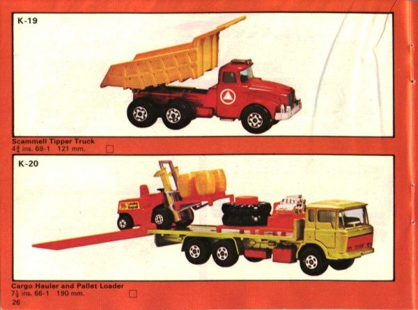 catalogue matchbox 1975 p26