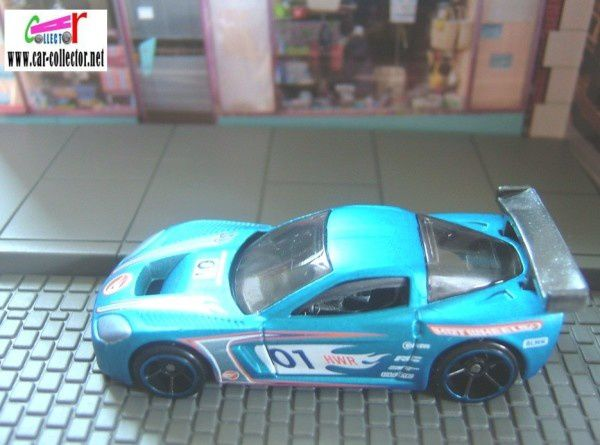 chevrolet corvette c6r hot wheels racing 2009.071 (1)