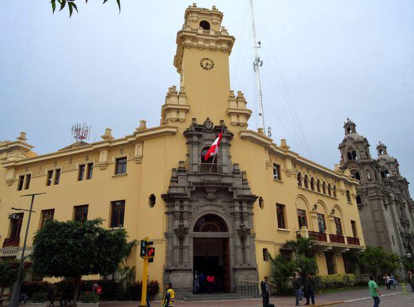 Lima Miraflores mairie