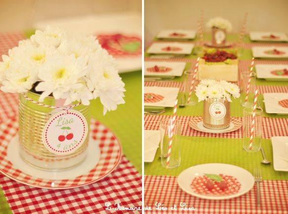deco table 4 ans
