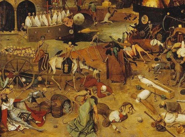 pierre brueghel The triumph of death le triomphe d-copie-1