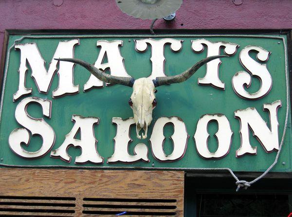 Prescott Matts Saloon