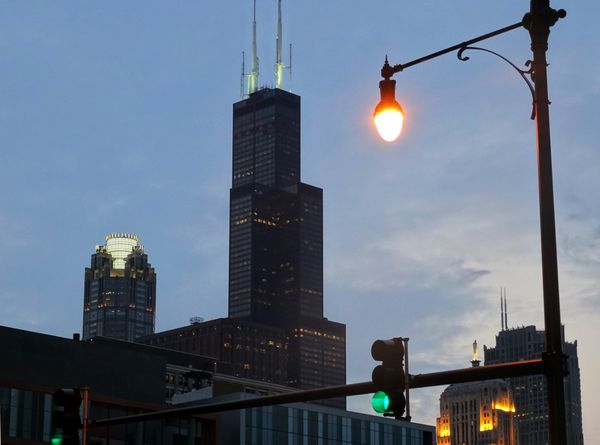 Chicago Willis Tower nuit