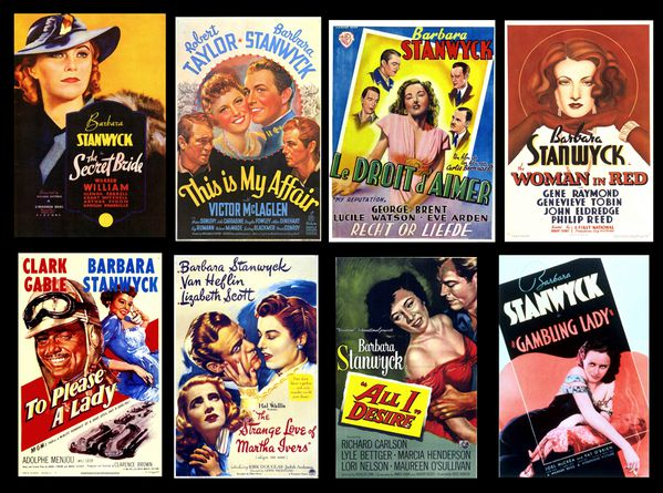 STANWYCK posters