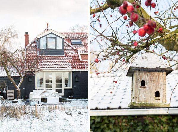 une maison danoise sous la neige a part a. Black Bedroom Furniture Sets. Home Design Ideas