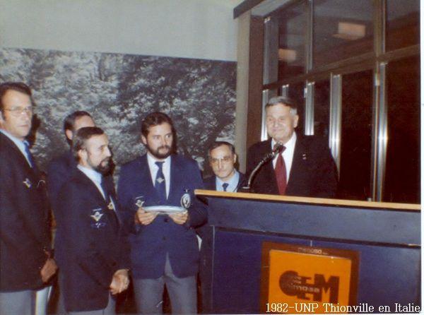 1982-UNP Thionville en Italie