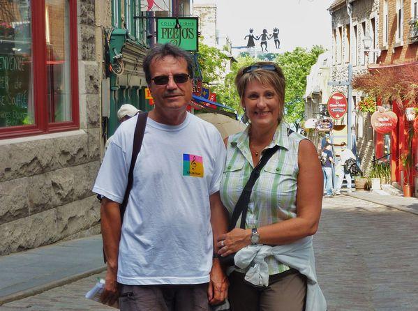 Québec quartier Petit Champlain Nous 2