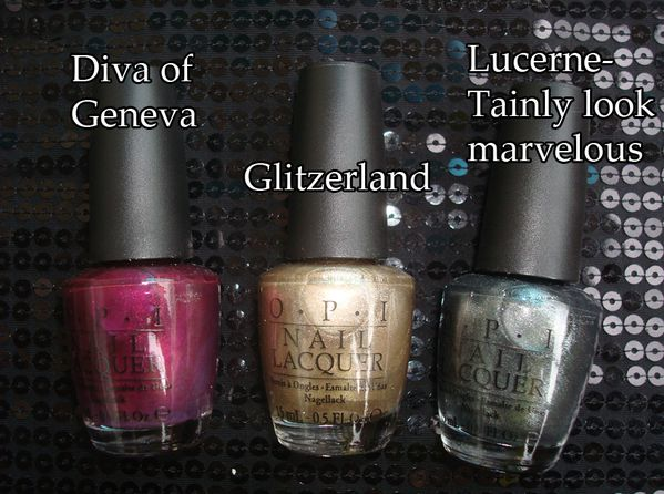 OPI Swiss Collection part 1