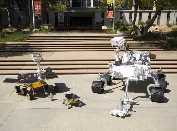 robots martiens NASA