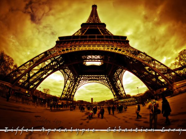 Eiffel Apocalypse - Sbastien Lory - concours photo Un mon