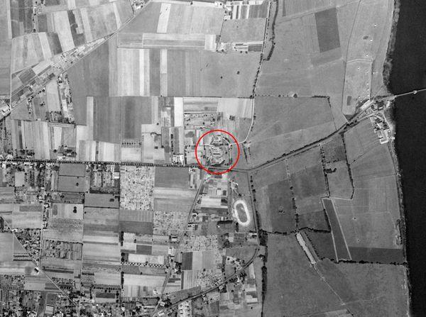 Ferme du Garet en 1960 (avec localisation)