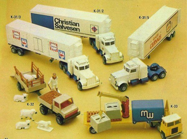 p46 katalog matchbox 1979.80 peterbilt glaces gervais