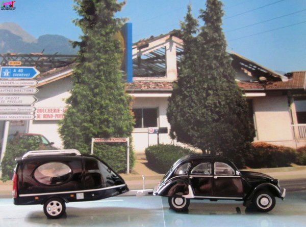 fascicule n 20 citroen 2cv corbillard 1 43 eligor car. Black Bedroom Furniture Sets. Home Design Ideas
