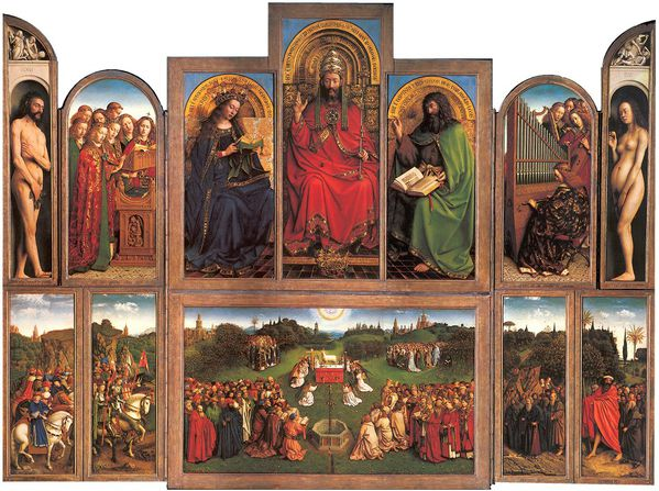 jan van Eyck adoration