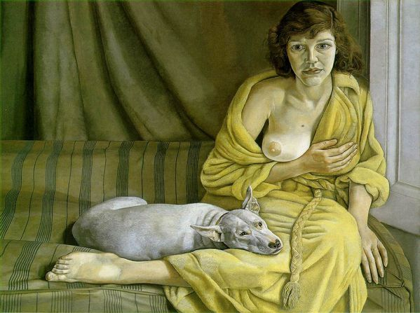 freud girl with white dog1