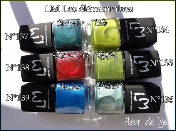 LM Cosmetic Les elementaires