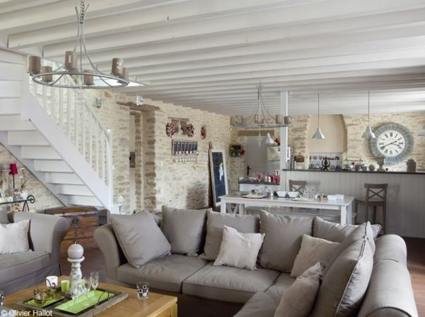 Naturellement chic le royaume du monde - Idees deco salon cosy ...