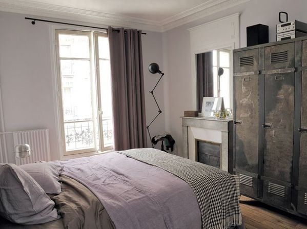 une ambiance au charme industriel indoors. Black Bedroom Furniture Sets. Home Design Ideas