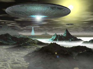 A image ufo is