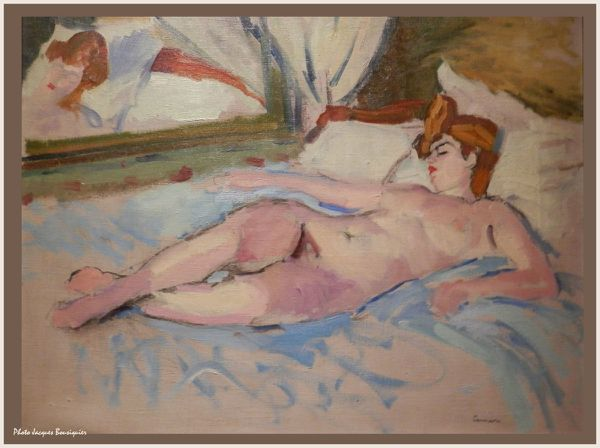La blonde au miroir Charles Camoin Musee Luxembourg