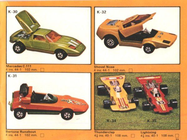 catalogue matchbox 1975 p31 shovel nose