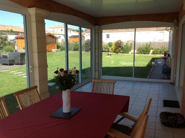 La veranda suite le blog de ludo et val rie for Construire une terrasse couverte