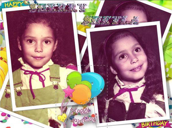 Sherry Sheyla Downing Feliz Cumpleaños Gemelas Honduras