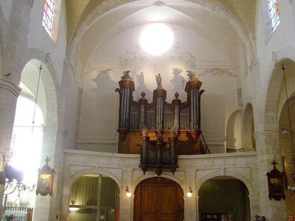 St-Sauveur Organ, La Rochelle