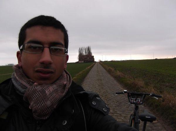 Photos pavés Paris-Roubaix le 11janvier 2013 045