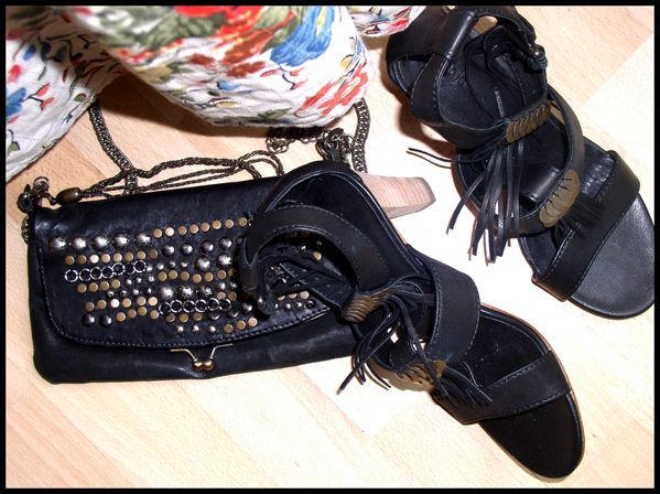 chaussures et sac MAJE